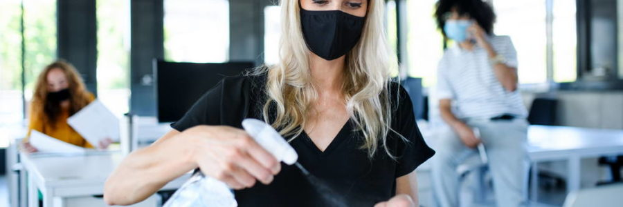Infection Prevention and Disinfection for the Workplace