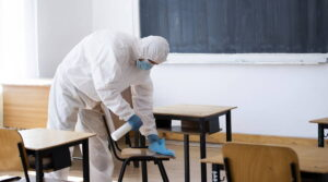 School Cleaning and Disinfecting Services