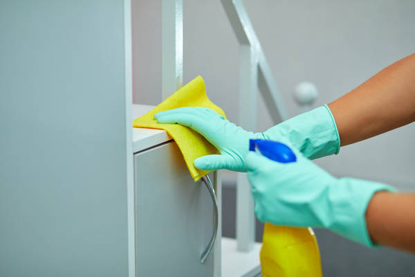 What is included in janitorial duties?